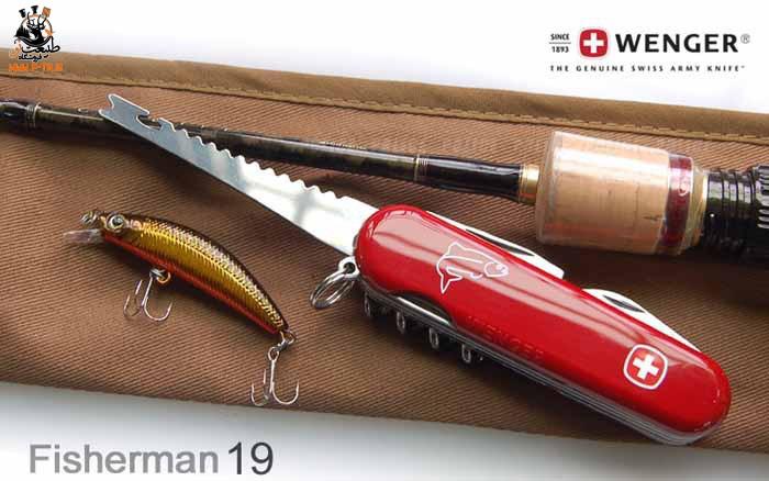 چاقو چندکاره ونگر Fisherman 19
