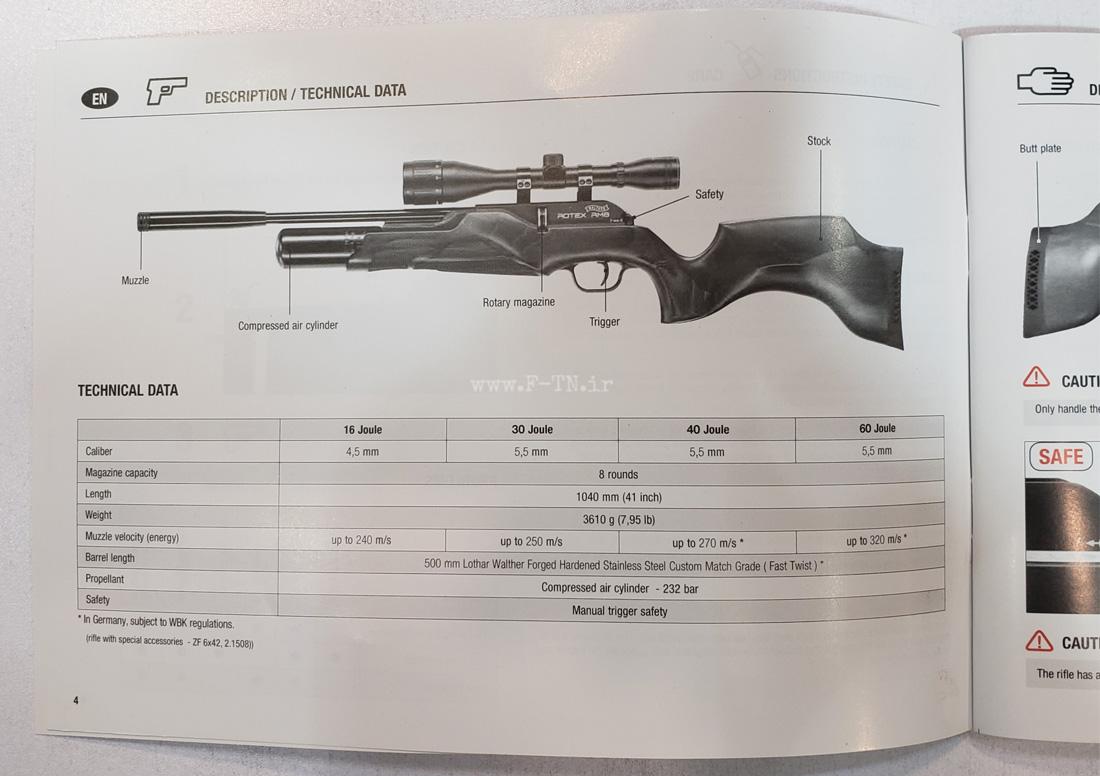 تفنگ پی سی پی والتر روتکس RM8 وارمینت