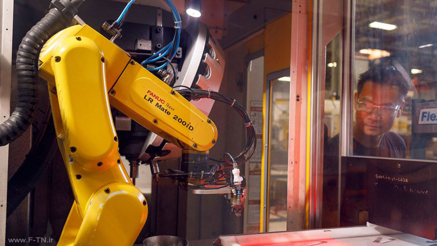 ربات کارخانه لدرمن